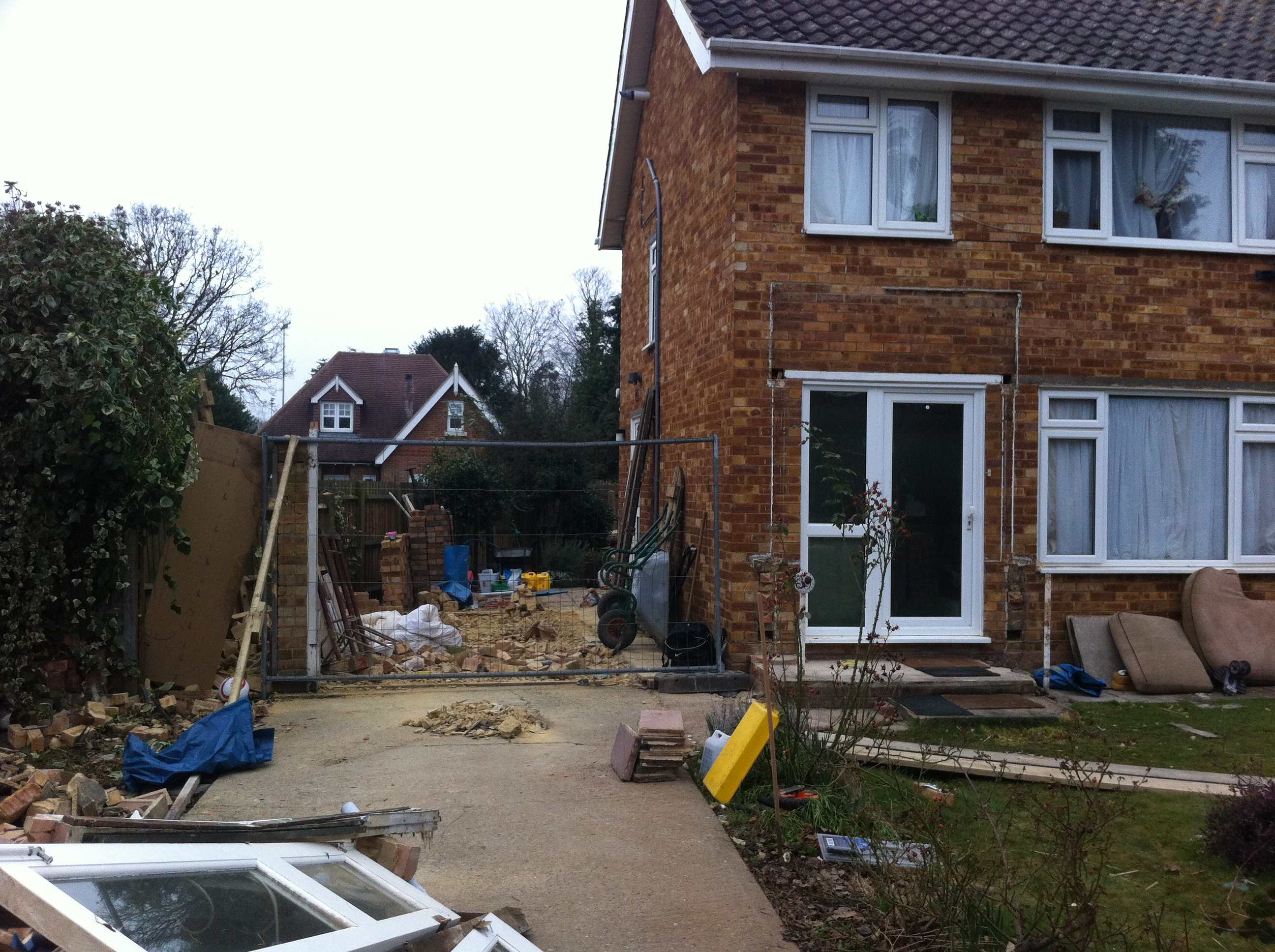 Two Storey Side Extension , Creating Living Room, Utility\cloakroom And  Master Bedroom With En Suite